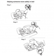 Helping Someone Move Safely in Bed