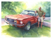Bob and the Ford Mustang
